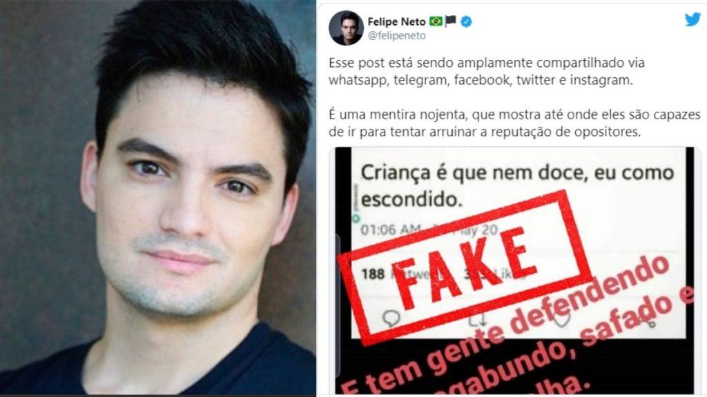 Felipe Neto sofre ataques