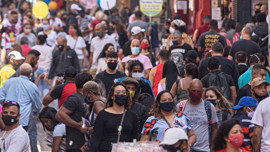 aglomeração na pandemia