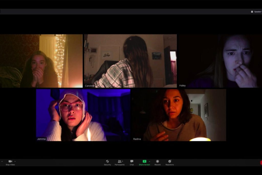 host, sustos e horor isolamento social