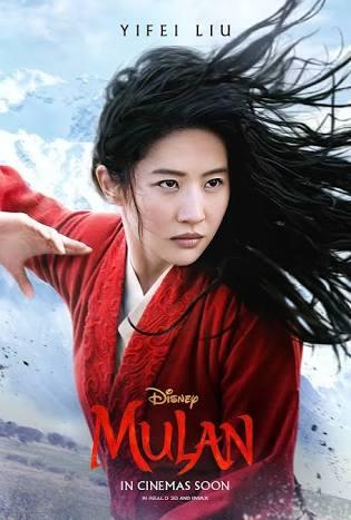 Mulan, lançamento em Streaming