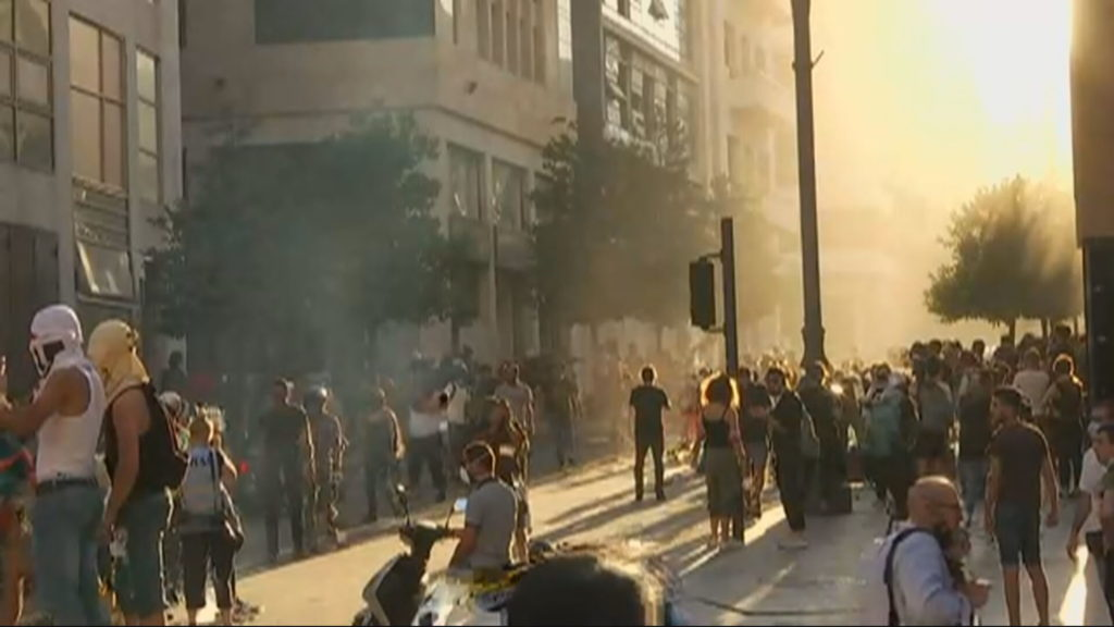 Protestos no lìbano