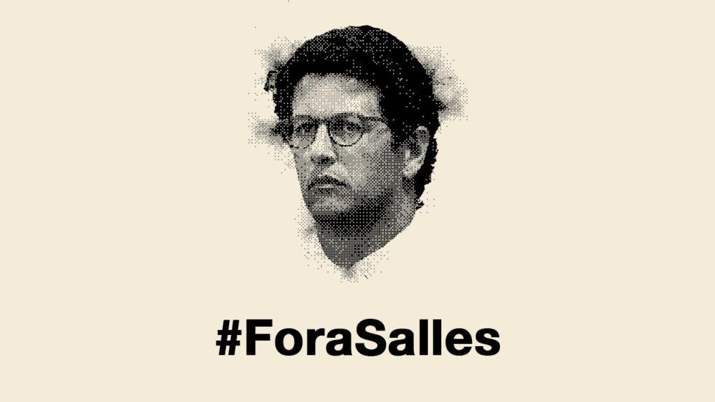 """Ricardo Salles insulta moradores de região incendiada de """"maconheiros"""""""